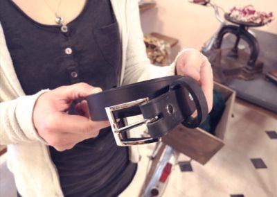 Atelier de maroquinerie - Atelier Ceinture