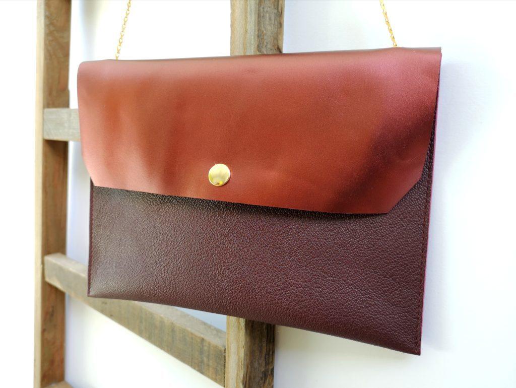 Atelier Maroquinerie - Pochette en cuir - Atelier Luce