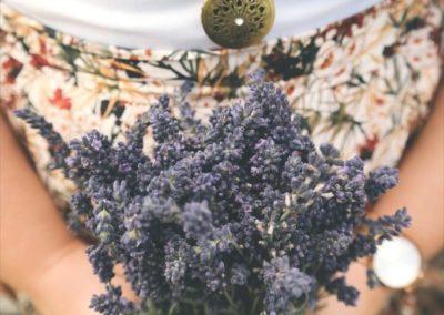 Atelier Luce - Maison Bijoux Accessoires Cuir Bordeaux Bouquet fleur Femme