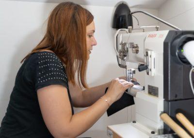 Atelier de Maroquinerie - Piqûre machine à coudre