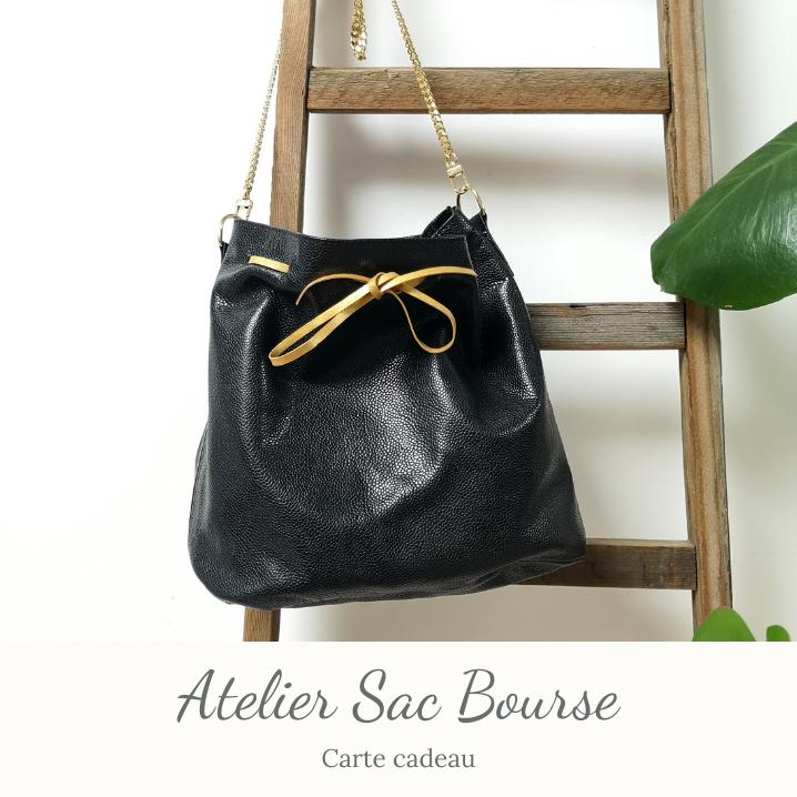 Carte cadeau - Atelier Sac Bourse