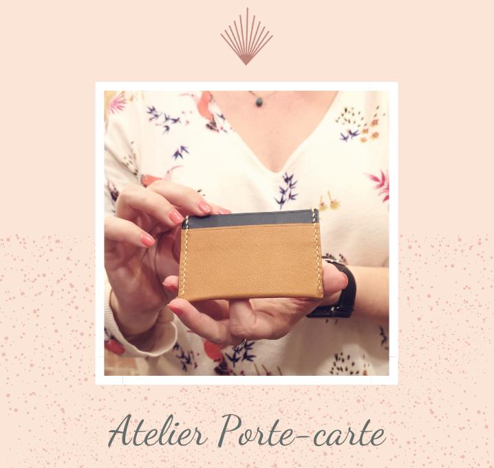 Carte cadeau - Atelier Porte-carte