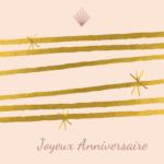 Carte cadeau - Joyeux anniversaire