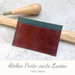 Carte cadeau - Atelier Porte-carte Lucien